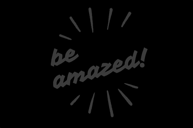 Be amazed exclamation