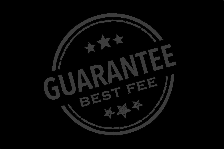 Best fee guarantee stamp