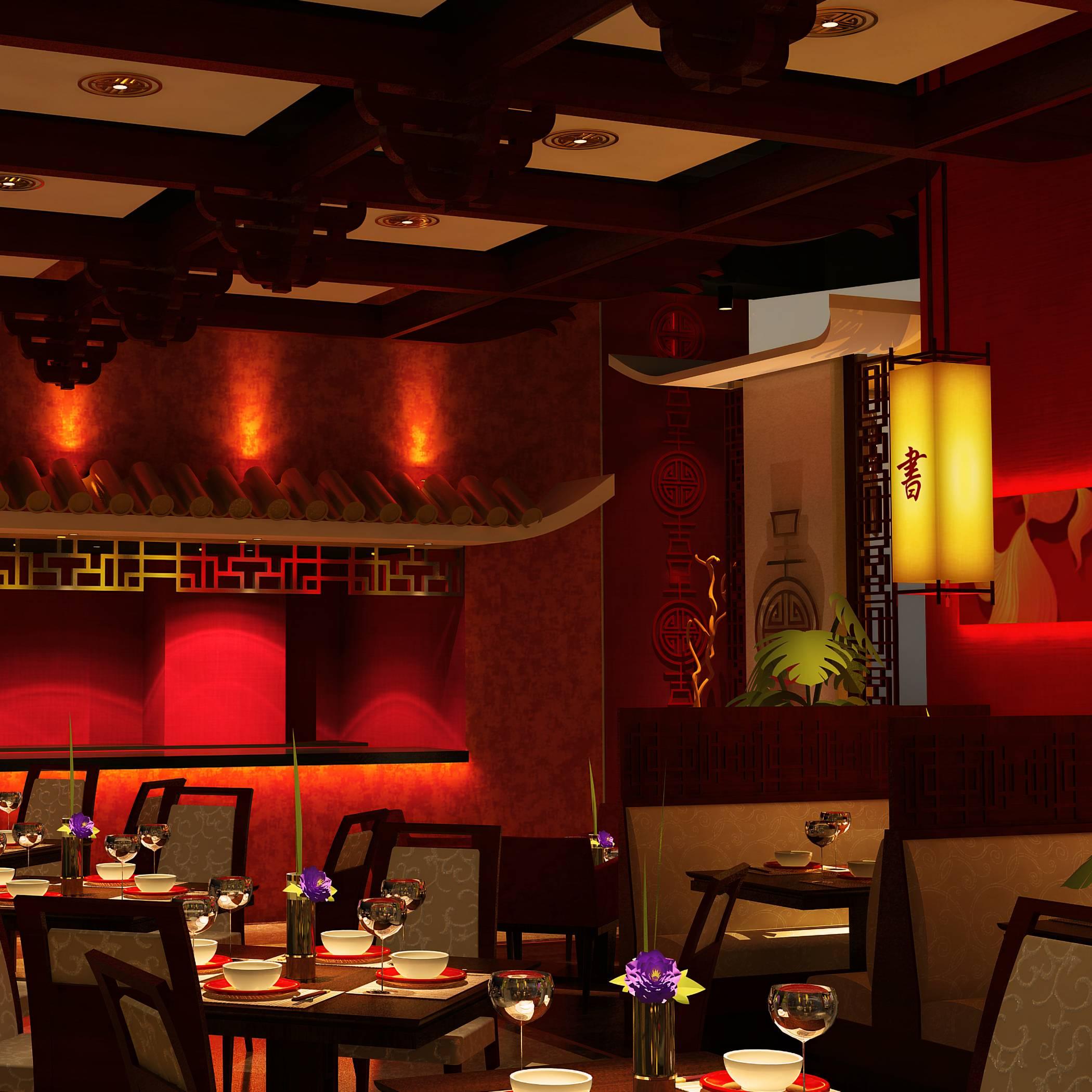 Asia Seven restaurant live kitchen
