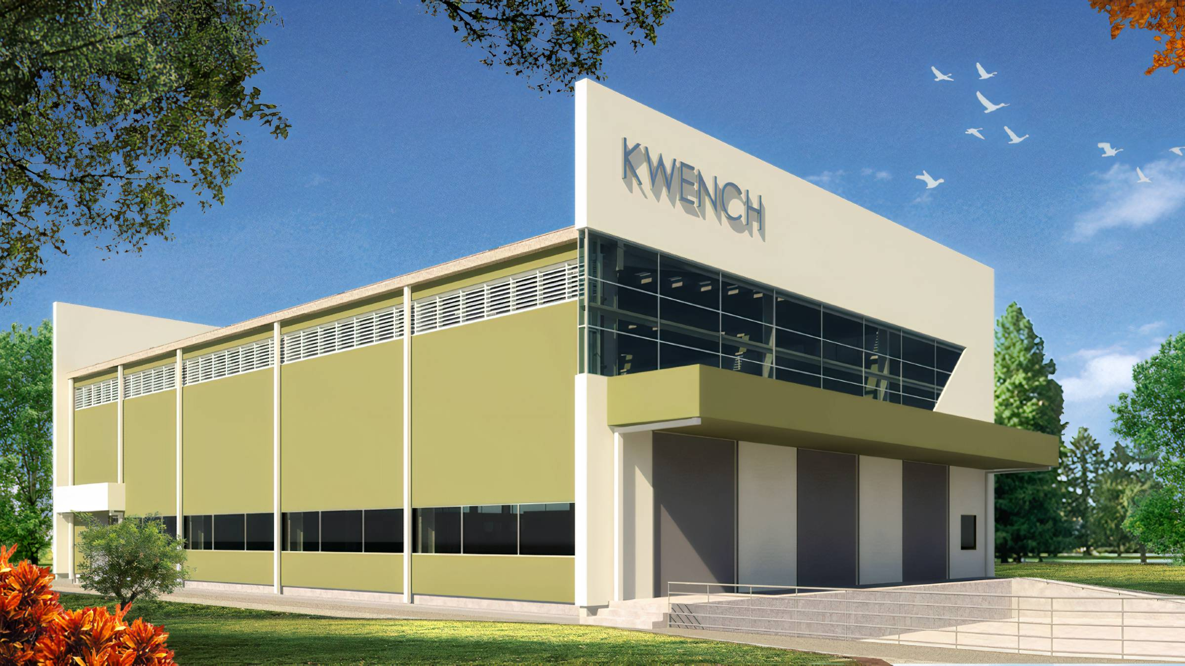 Kwench Plant Industrial Architecture street view