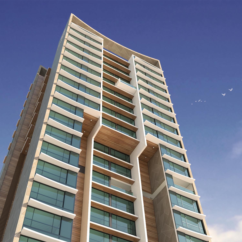 Sonas Towers High-rise Housing street view
