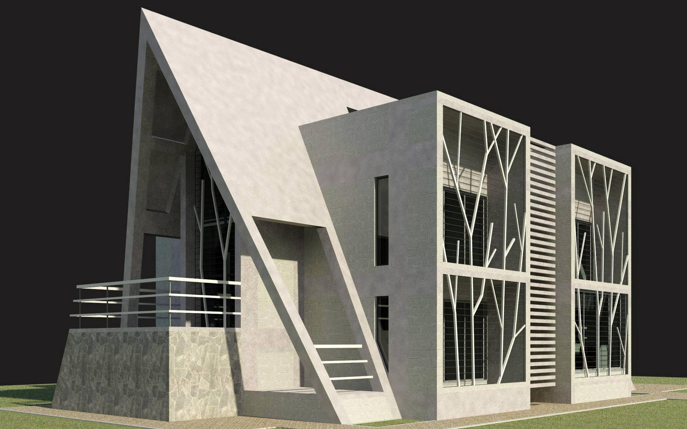 The Villa A-Frame Design